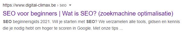 CTR optimaliseren voor SEO in Google