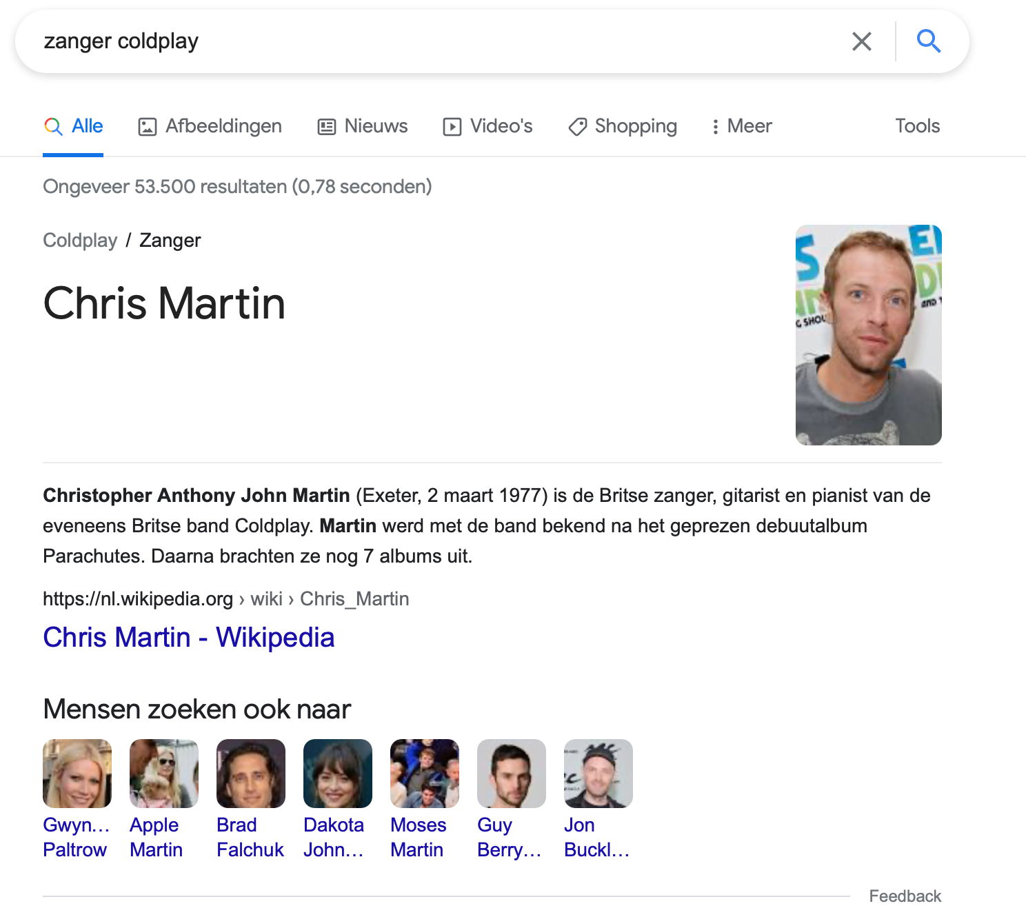 Knowledge graph verband